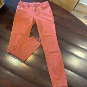 Articles of society skinny jeans with fray bottom
